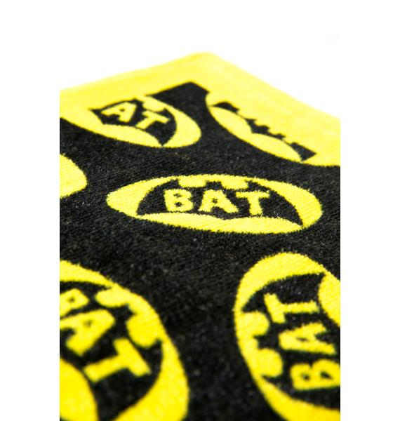 Bat Signal Wash Cloth