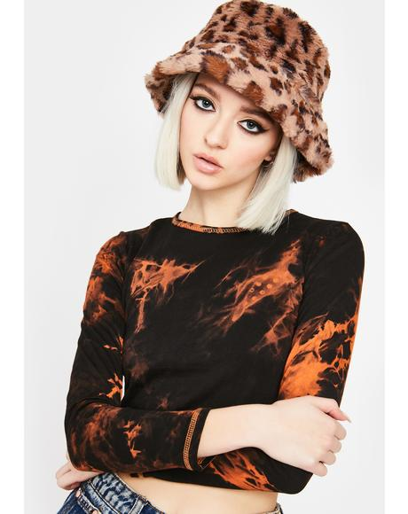 Mocha Posh Potential Bucket Hat