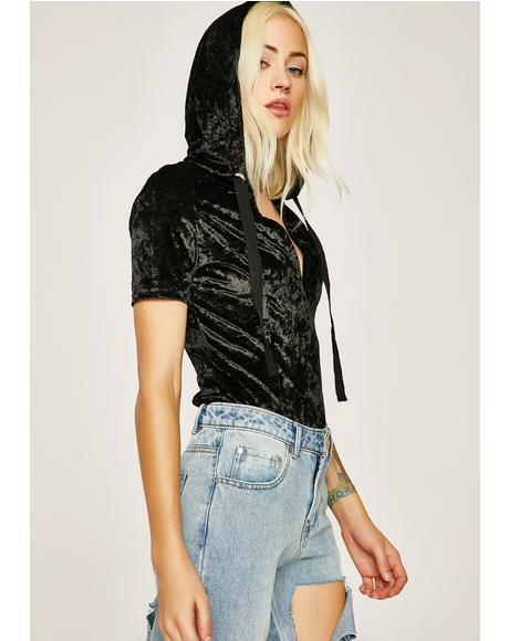 Hometown Runaway Hooded Bodysuit