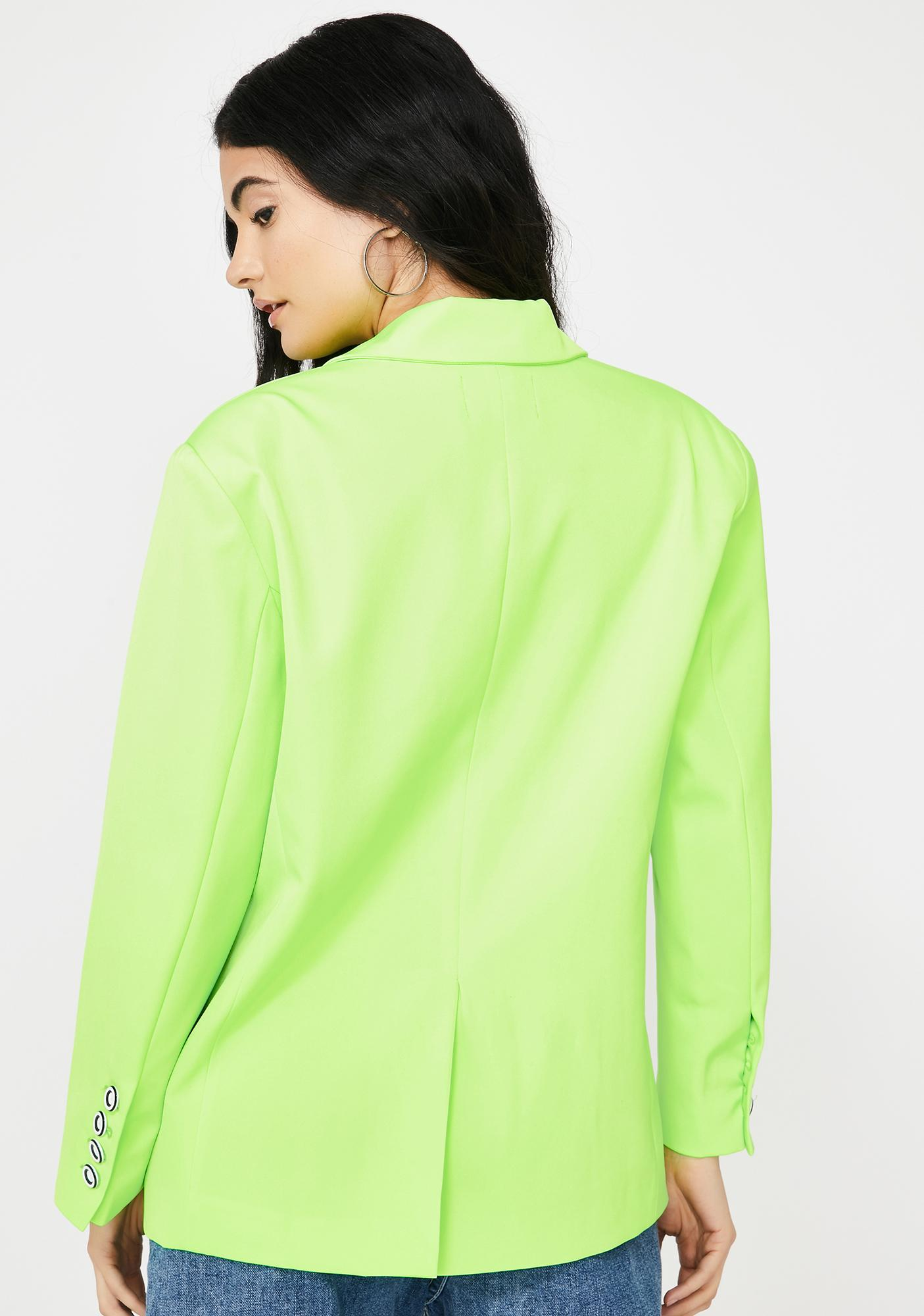 THE KRIPT Hailey Neon Blazer