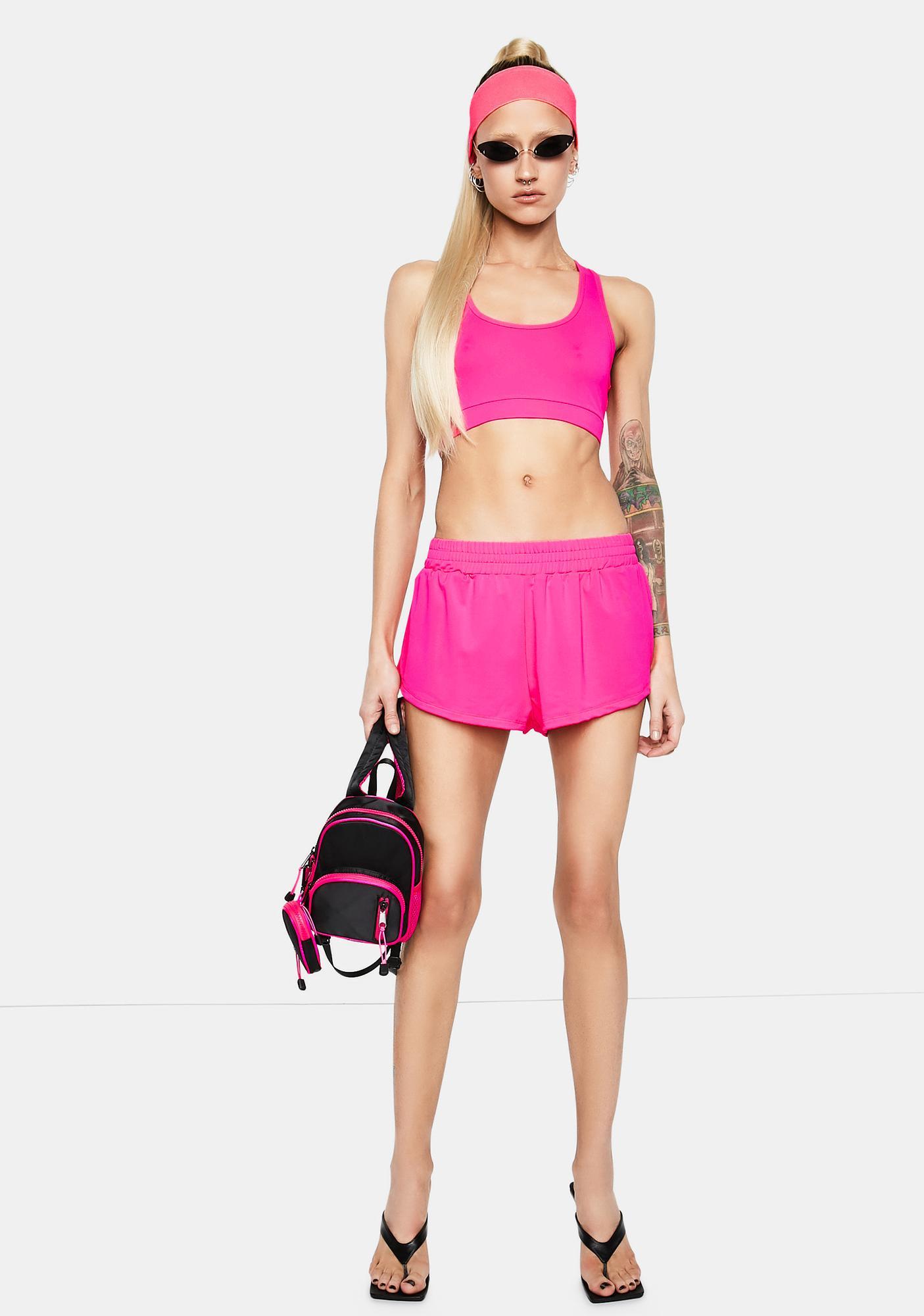 Club Exx Gym Bunny Mini Boxing Shorts