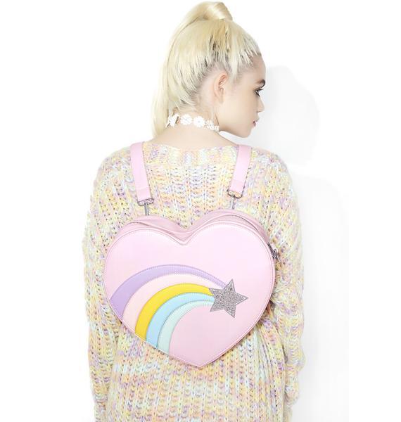 Sugar Thrillz Rainbow Pop Mini Heart Backpack Dolls Kill