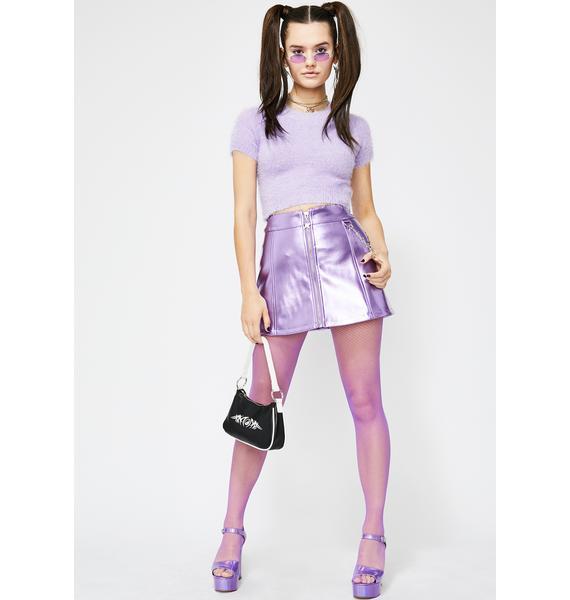 HOROSCOPEZ Dream Sign Mini Skirt