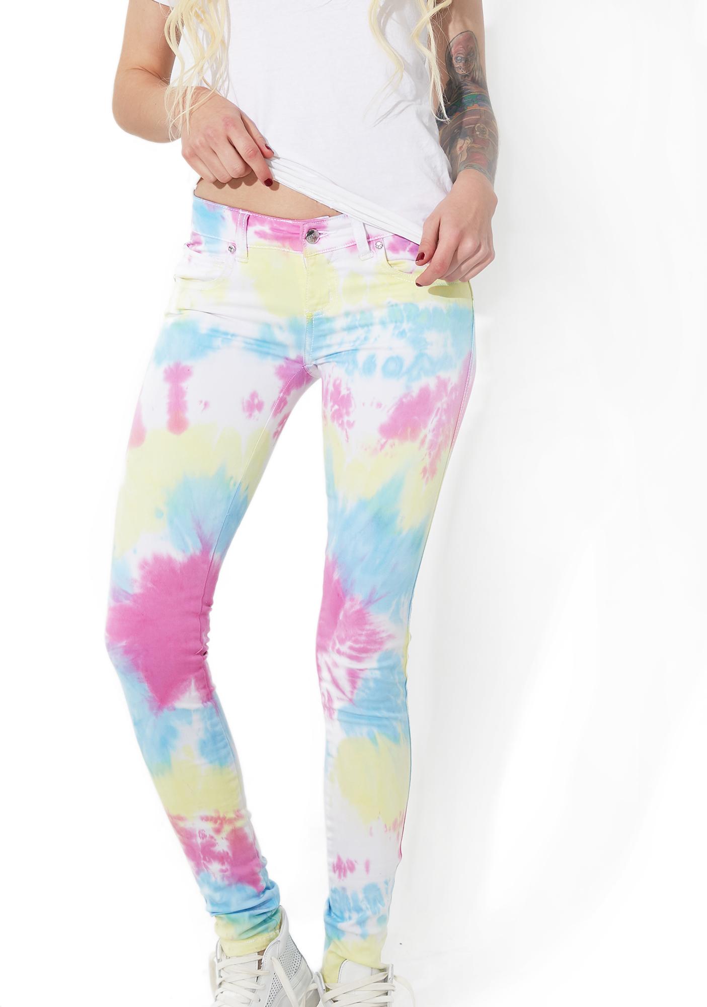 Tripp NYC Tie Dye Twill Pants