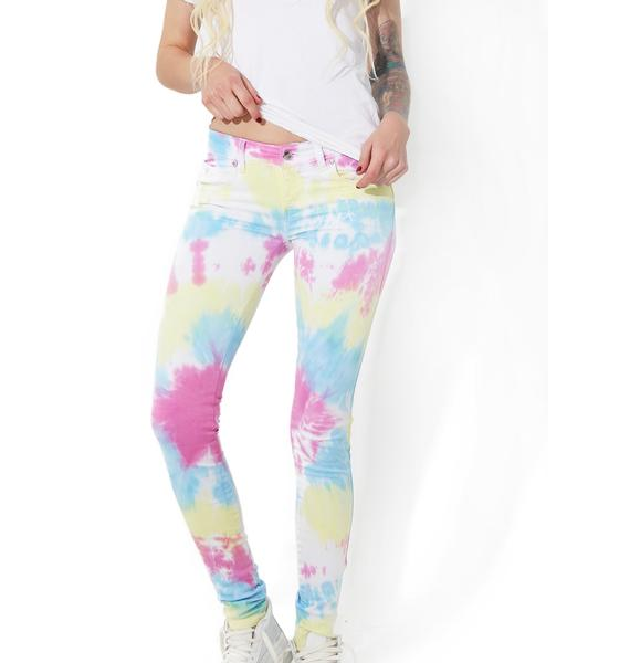 Tripp NYC Tie Dye Twill Pants
