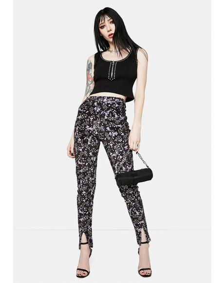 Brianna Floral Skinny Pants
