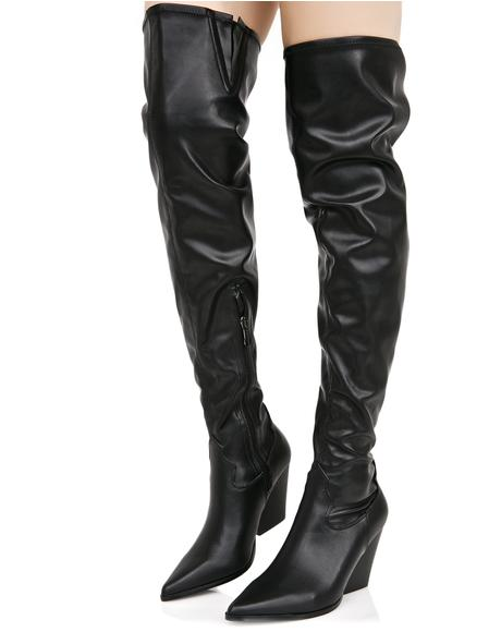 Dusk Till Dawn Thigh-High Boots
