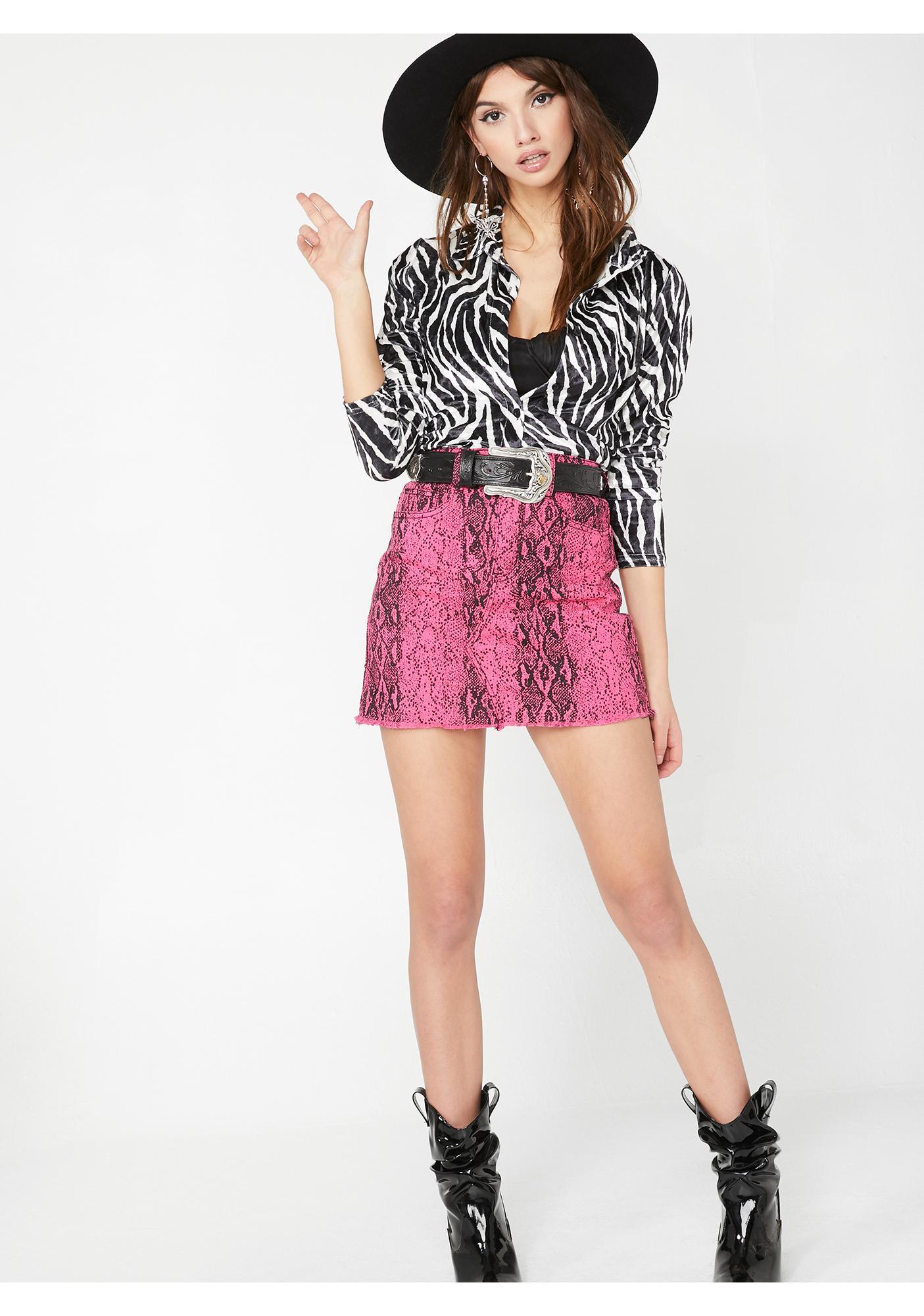 Lady Danger Mini Skirt