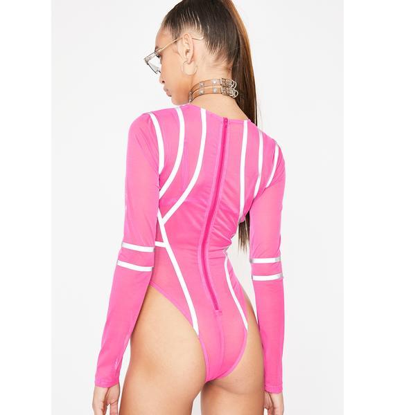 Candy Kinetic Charge Reflective Bodysuit