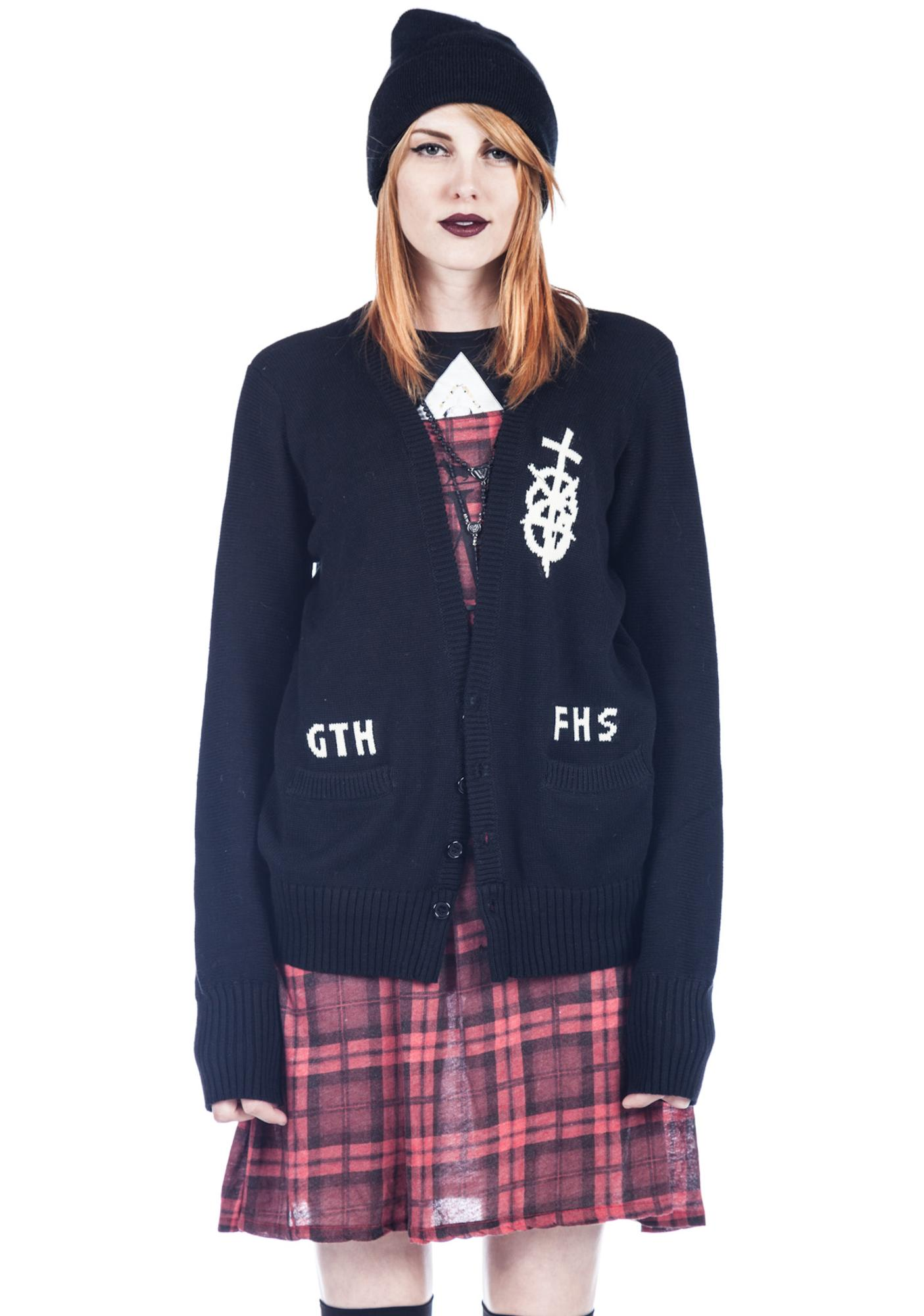 UNIF Go to Hell Cardigan
