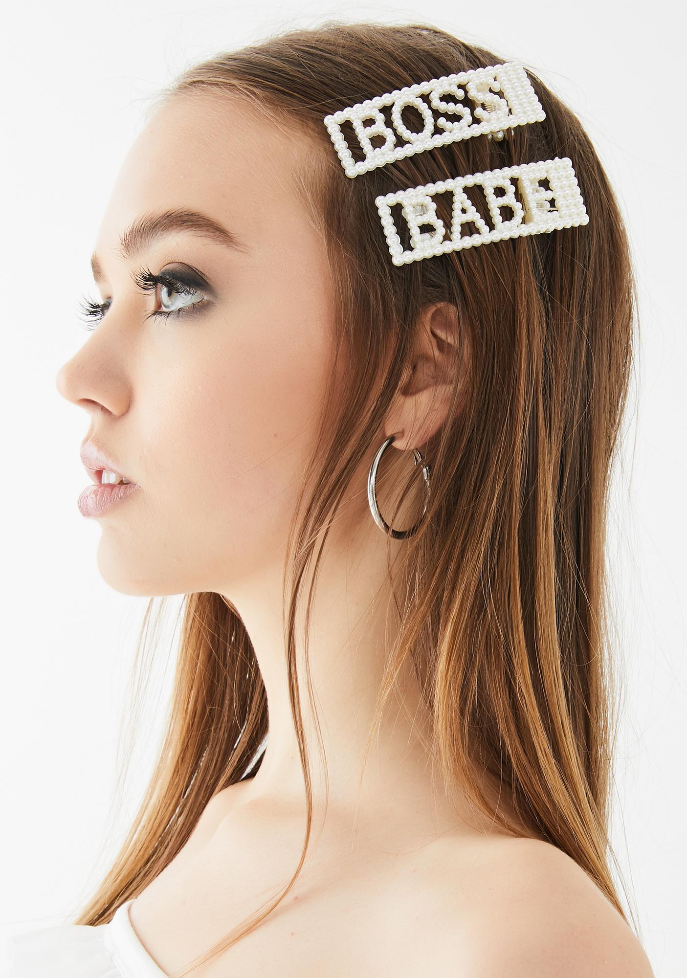 Cool Girl Hair Clip Set