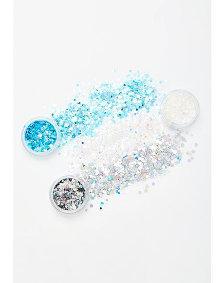 Season Shine Ornament Glitter Set