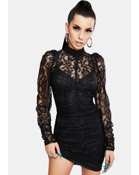 Aiden Lace Mini Dress