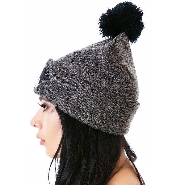 Lazy Oaf Fed Up Bobble Hat