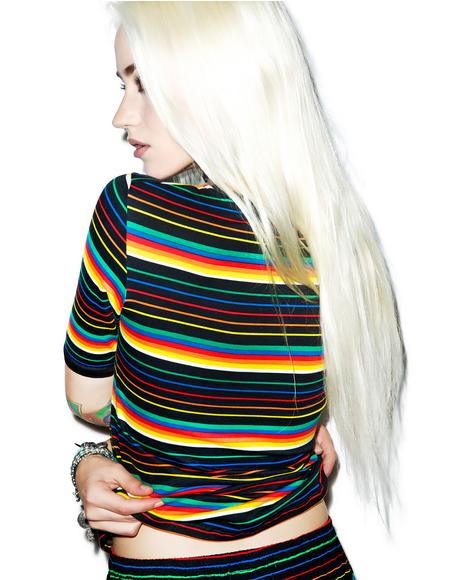 Rainbow Tanga Top