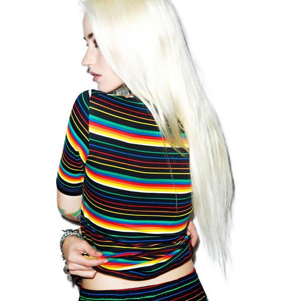 Motel Rainbow Tanga Top