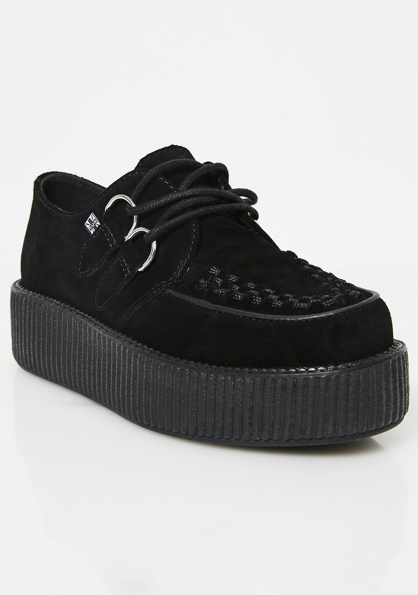 reputable site ce406 76613 Suede Viva Mondo Creepers