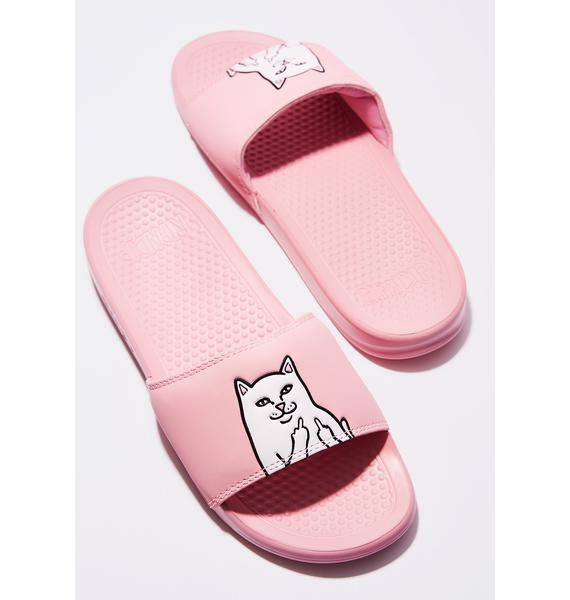 RIPNDIP Pink Lord Nermal Slides