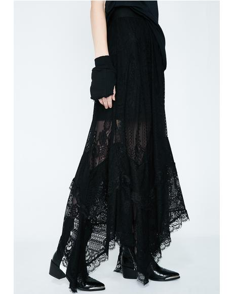 Morte Mistress Maxi Skirt