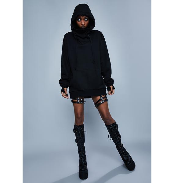 Widow Walk Through Fire Pullover Hoodie