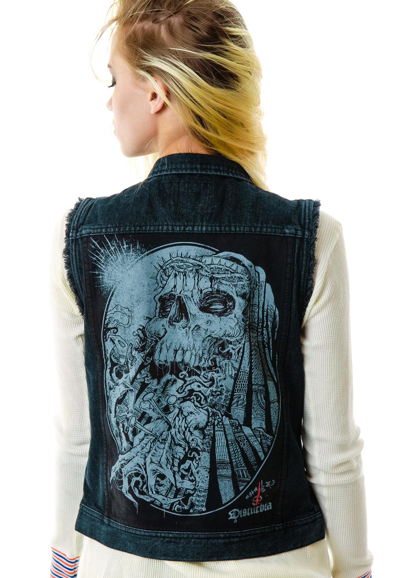 Disturbia Crown of Thorns Vest