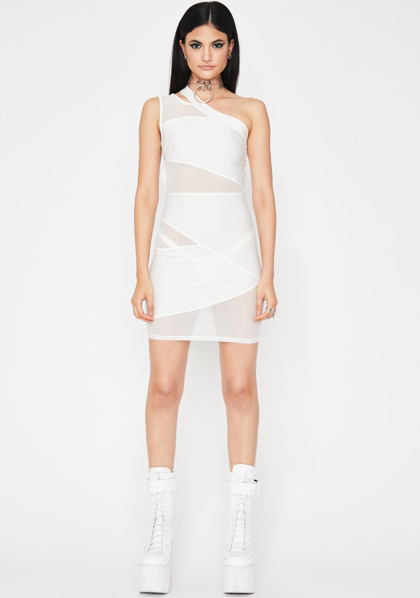 Iced Kinky Euphoria Cut Out Dress