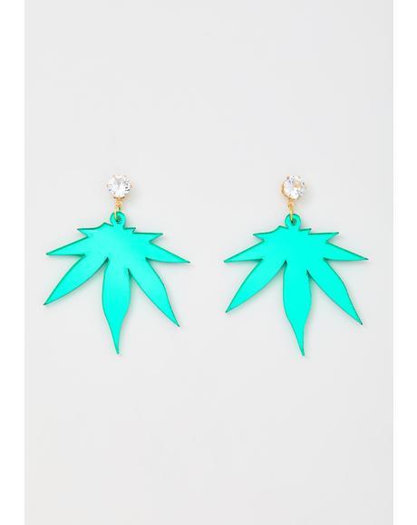 Mary Jane Drop Earrings