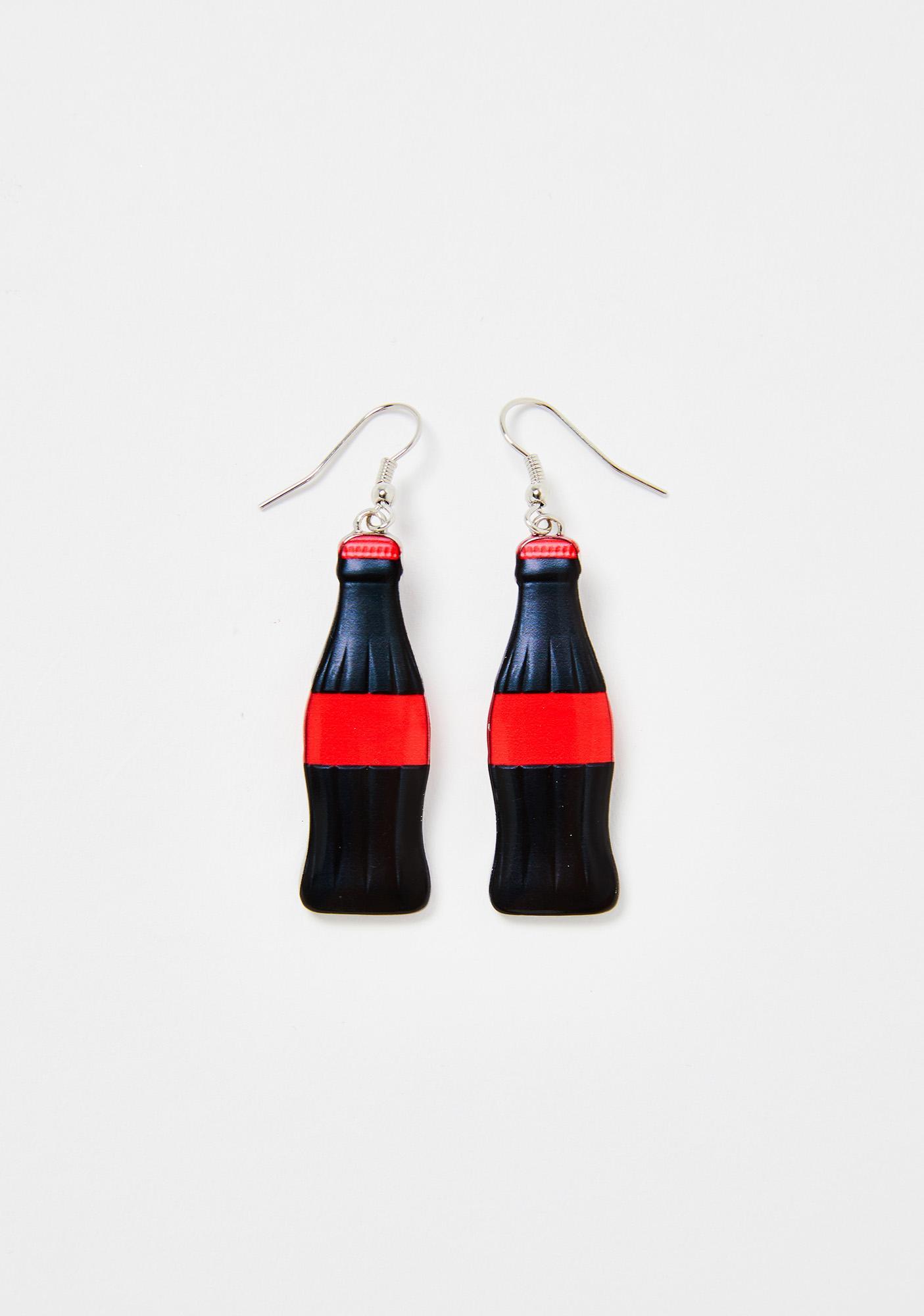 Sugar Rush Coke Bottle Earrings