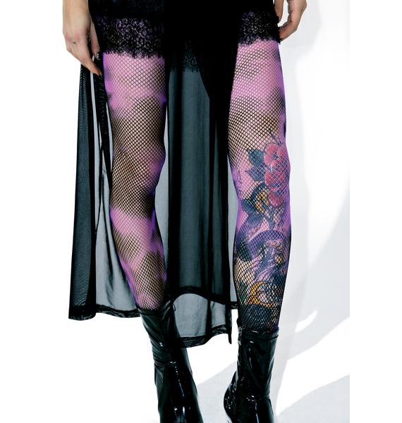 Mysterious Hours Fishnet Tights