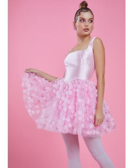 So On Pointe Flower Tutu Dress