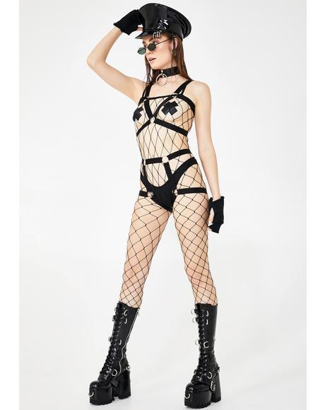 Entice 'Em Fence Net Bodystocking