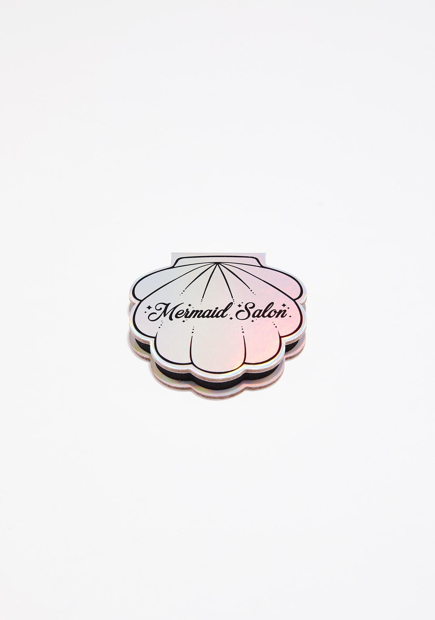Mermaid Salon Little Tin Goddess Glitter Seashell