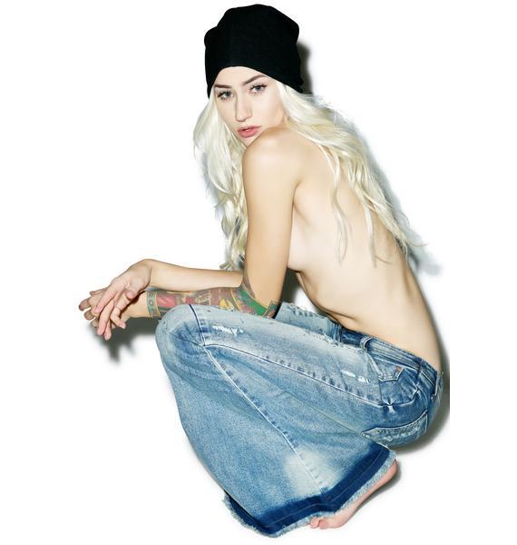 One Teaspoon Blue Blonde Ziggy Jeans
