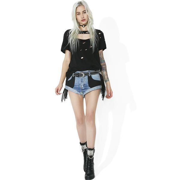 One Teaspoon  Viper Bandit Shorts