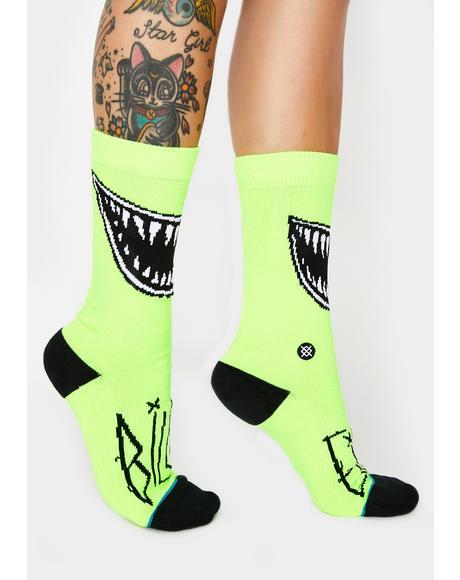 Grin Crew Socks