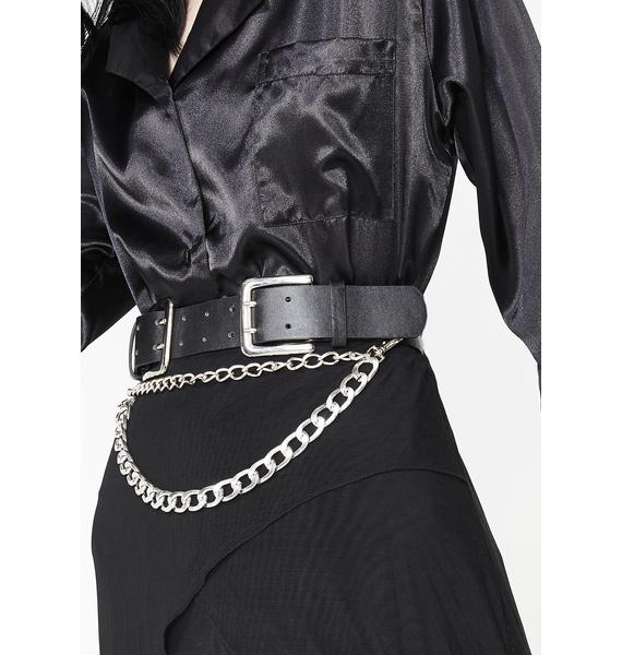 Askin' For Trouble Chain Belt