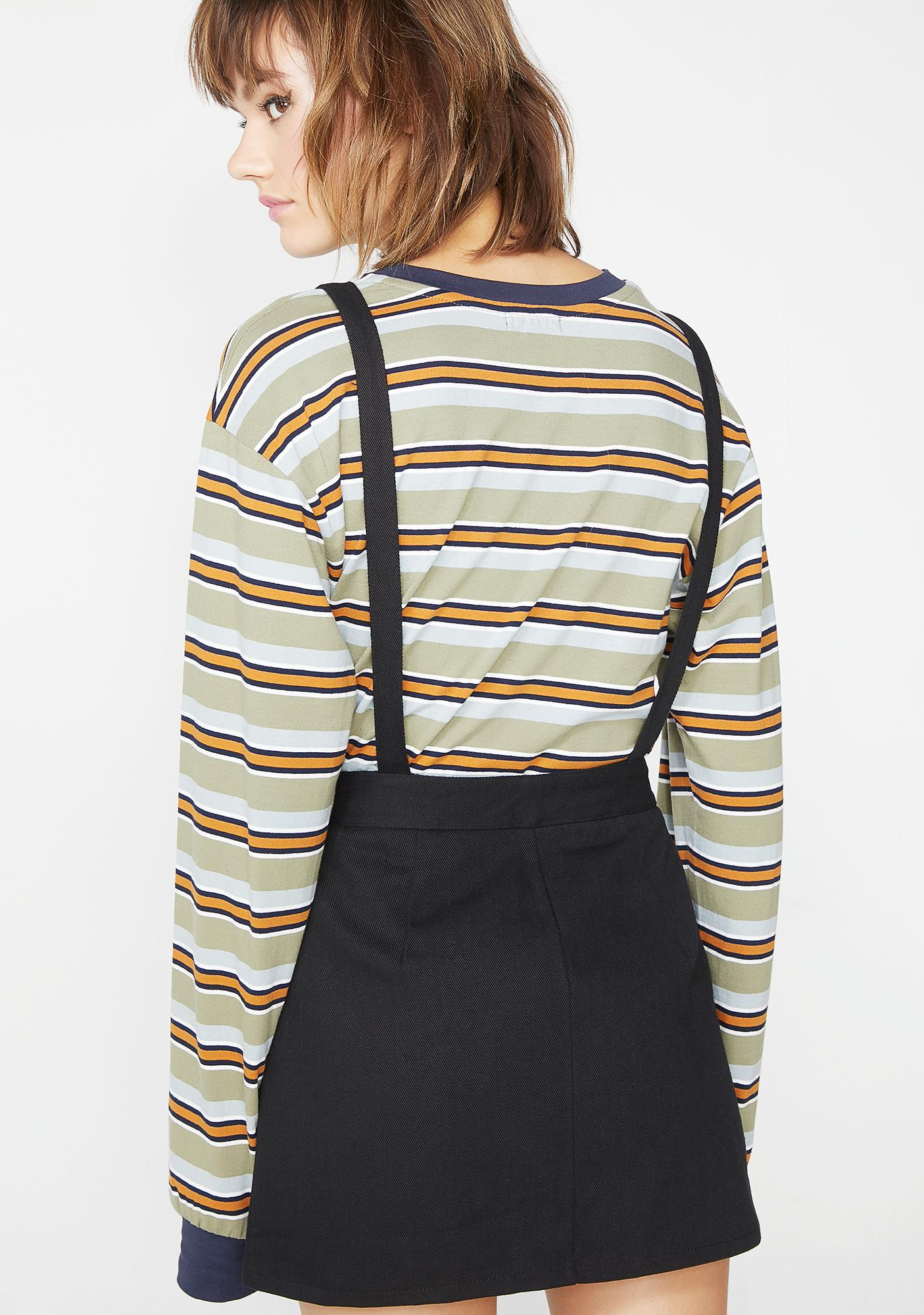 Grade A Suspender Skirt
