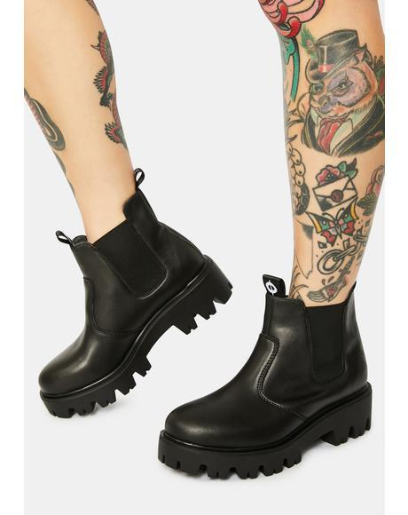 Soul Vegan Chelsea Boots