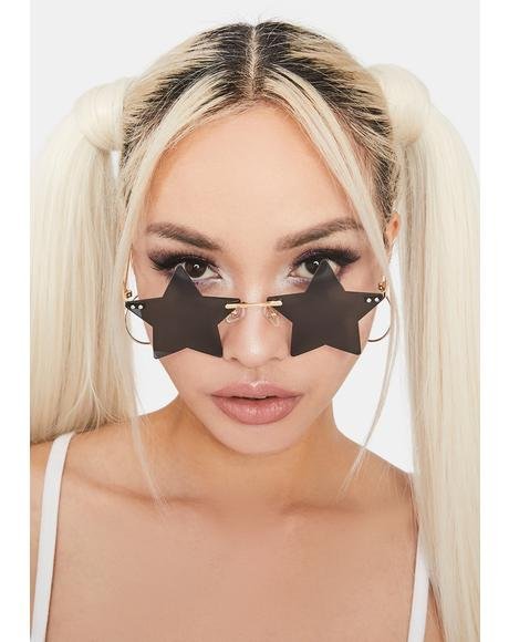 Ink Wish Come True Star Sunglasses