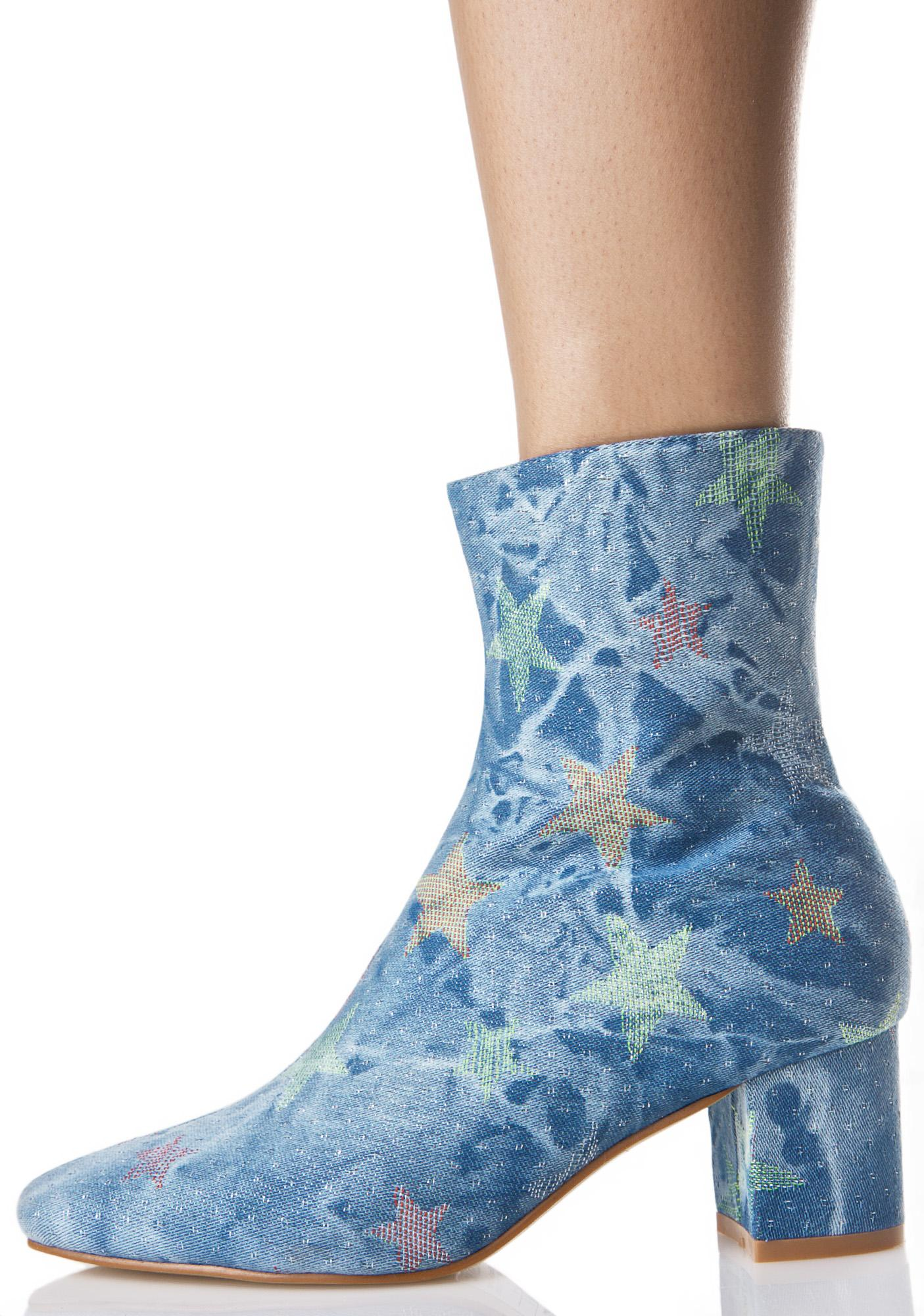Denim Close Encounter Boots