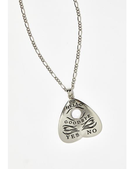 Mysterious Planchette Necklace