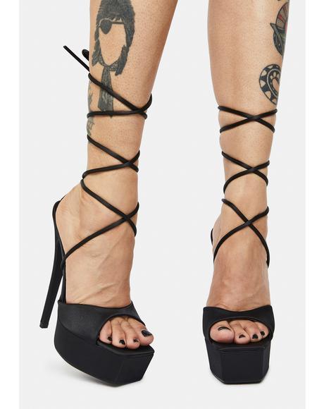 Expose Platform Heels