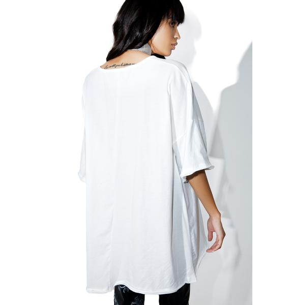 Ebb & Flow Oversized Tee Dress