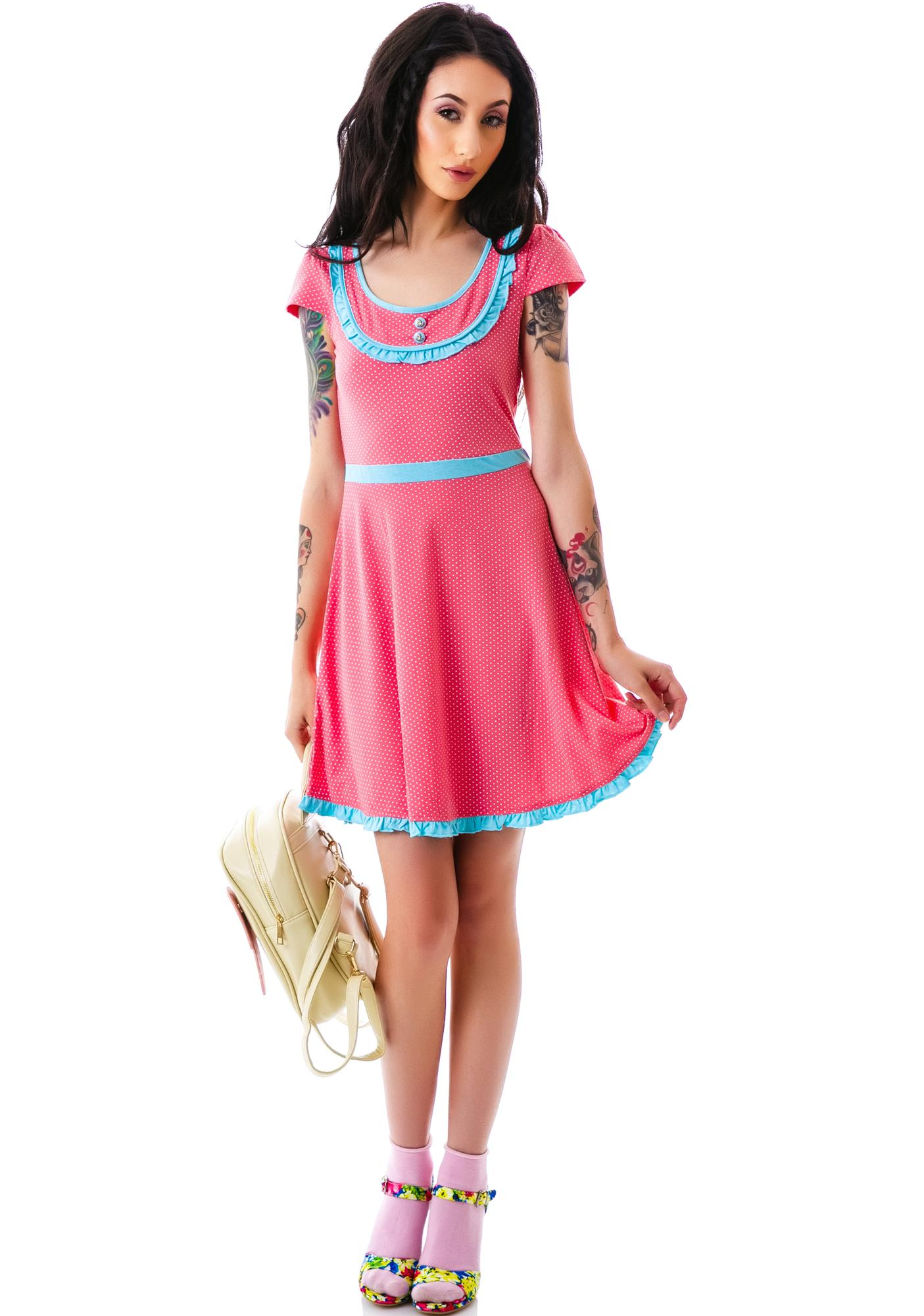Sourpuss Clothing Patsy Sweet Sailor Dress