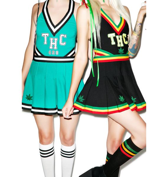 THC High Cheer Set; stoner halloween costume ideas