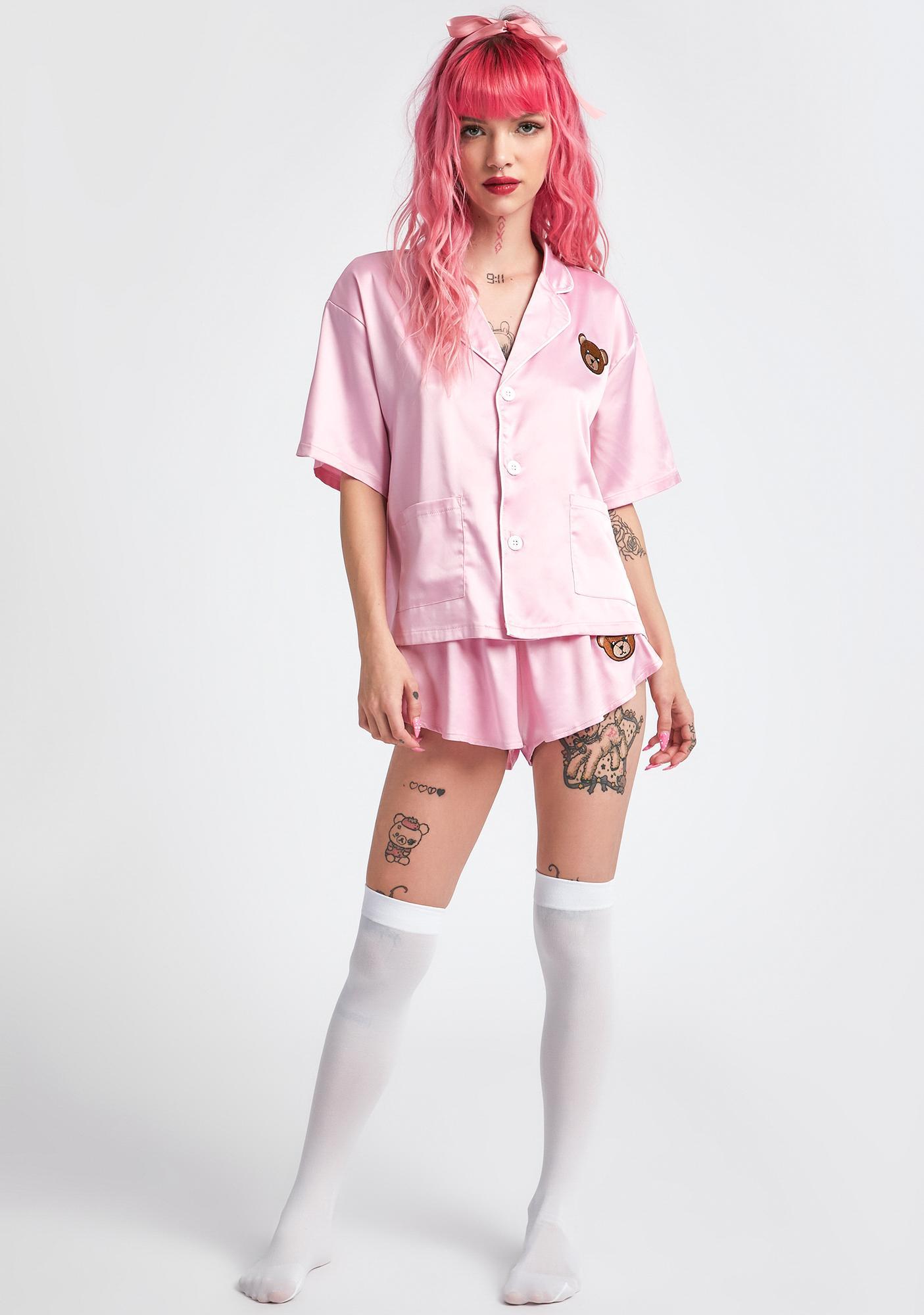 dELiA*s by Dolls Kill Beary Sleepy Pajama Set