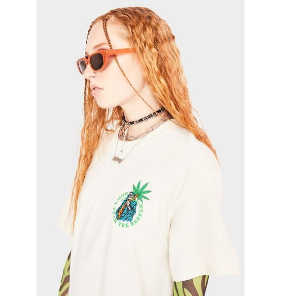 Know Bad Daze Fear The Reefer Graphic Tee