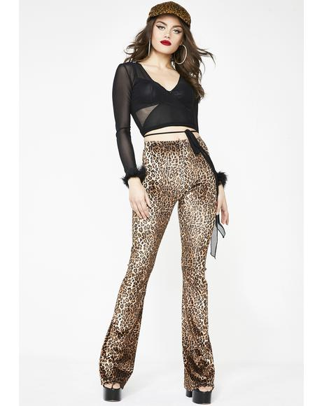 Feelin' Frisky Leopard Pants