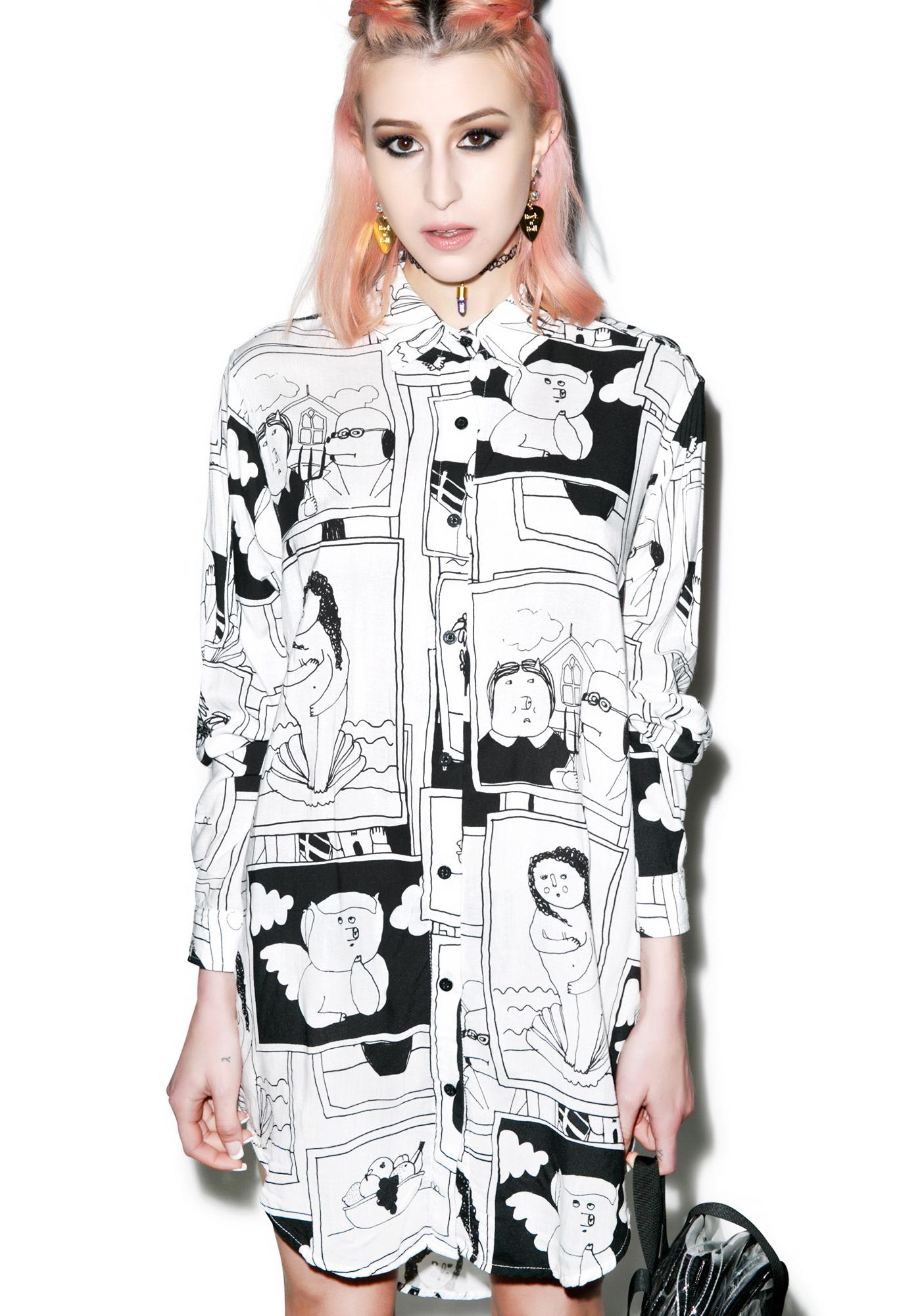 Lazy Oaf Work Of Art Shirt