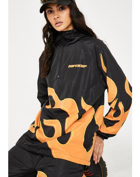 Flaming Hot Anorak Jacket